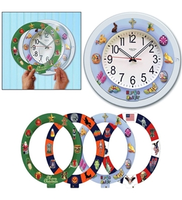 Mag-Nif Holiday Times 5-in-1 Musical Clock