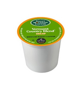 Green Mountain Coffee Vermont Country Blend Decaf, K-Cup for Keurig Brewers