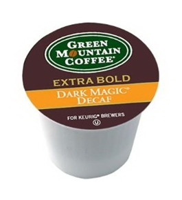 Green Mountain Dark Magic DECAF Extra Bold for Keurig Brewers 24 K-Cups (2 Pack)