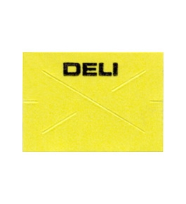 Garvey Preprinted GX1812 Yellow/Black Deli Labels for a 18-6 Labeler