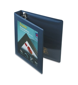 Avery Framed View Binder with 1.5 Inch One Touch EZD Ring, Navy Blue, 1 Binder