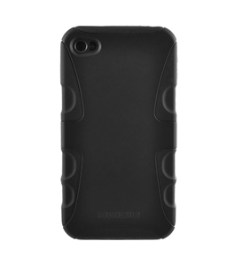 Seidio Innocase X Case for iPhone 4, Black
