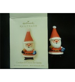 Hallmark Keepsake Ornament - Cookies & Cocoa for Santa 2008 (LPR3394)