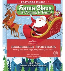 Hallmark Santa Claus is Coming To Town Recordable Storybook with music