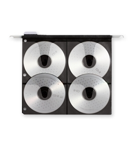 Hanging CD Pages, 15 Pack - Black - Find It - FT07069
