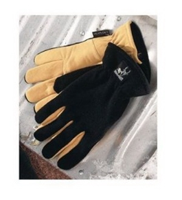 Heatlok Thermal Gloves Warm Winter Size Medium Med Tan and Black Brand New