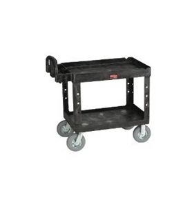Heavy-Duty Utility Cart (500 lb. Max) Black (RCP 4520-88)