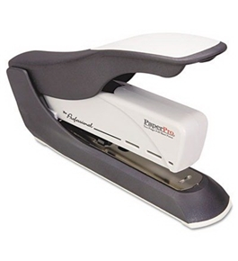 "High Capacity Stapler, 60 Sheet Cap., 2-3/5"" Throat, Black/Gray"