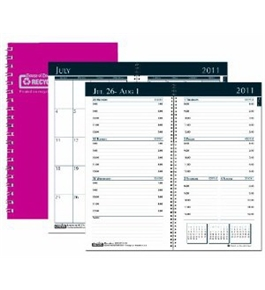 House of Doolittle Academic Weekly/Monthly Pocket Planner, 12 Months July 2012 to June 2013, Dark Pink (HOD25505)