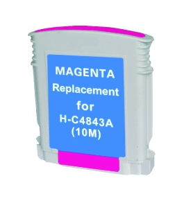 Printer Essentials for HP 10 Magenta - HP Business Inkjet 2000/2500, DesignJet Color GA/CAD - CARTC4843