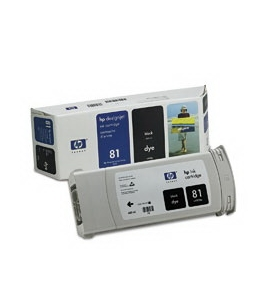 Printer Essentials for HP 81 Designjet 5000 5500 5500 5500PS RM4930A Inkjet Cartridge