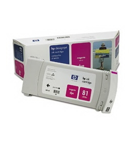 Printer Essentials for HP 81 Designjet 5000 5500 5500 5500PS RM4932A Inkjet Cartridge