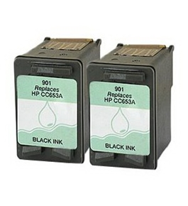 Printer Essentials for HP 901 Black - Officejet 4500 Series, Officejet J4500, Officejet J4550, Officejet J4580, Officejet J4640, Officejet J4680 - RM653AN
