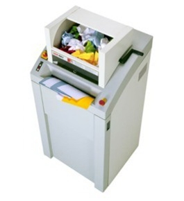 HSM 450.2cc White Glove Cross-Cut Shredder