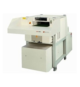 HSM SP 4980  Cross-Cut Shredder baler combination with White Glove
