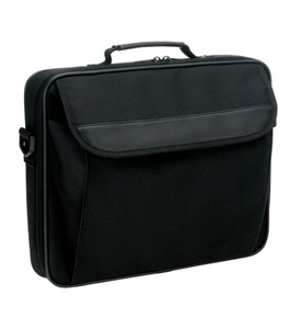 Icon-CB100-BLK Nylon Notebook Case (Black)