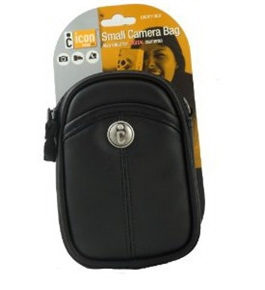 Icon Compact Digital Camera Deluxe Carrying Case - L3ICM111-black