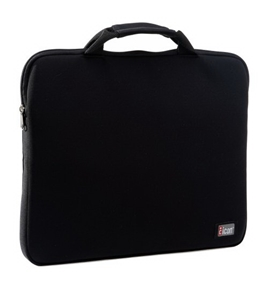 Icon-ICON4-BLK Neoprene Notebook Sleeve (Black)