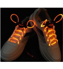 Image Light Up Flash LED Waterproof Shoelaces - 3 Modes (On, Strobe & Flashing)