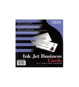 "Printer Essentials for Impresso Paper Standard Business Cards 8.5"" x 11"" - 01P4884"