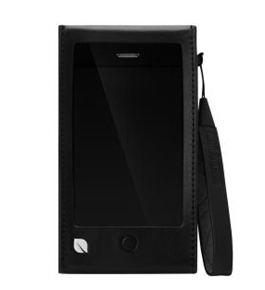 Incase Leather Sleeve for iPhone 5 - Black - ES89051 (ES89051)