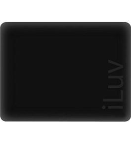 iPad MAC DADDY Black iLuv Silicone Case  #ICC801-BLK