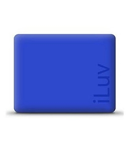 iPad MAC DADDY Blue iLuv Silicone Case  #ICC801-BLU