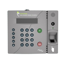 Icon Time System TotalPass Biometric Time Clock - TP-BIO