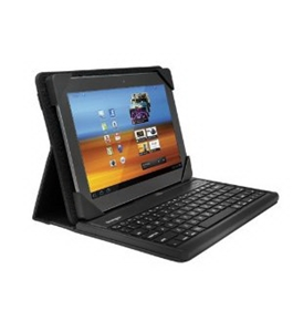 Kensington K39383US Universal KeyFolio Pro Case with Removable Keyboard for Galaxy, Xoom, eeePad Trans