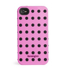 Kensington K39392US Combination Case Apple iPhone 4/4S - 1 Pack - Retail Packaging - Pink