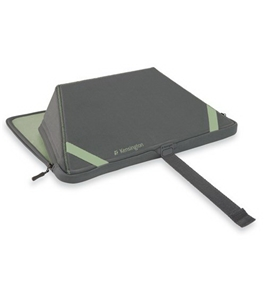 Kensington K60401US TwoFold Portable Notebook Stand and Sleeve, Green