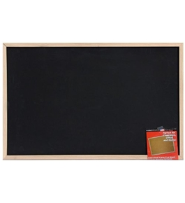 Dooley Wood Framed Chalk Board, 23 x 35 Inches (2436CH)