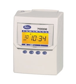 Lathem 7000E Calculating Time Recorder