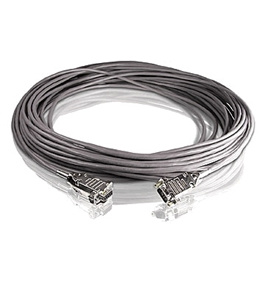 Lathem 50 ft. RS-232 Extension Cable
