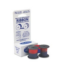 Lathem® Time Heavy-Duty Automatic Time Recorder, Replacement Ribbon
