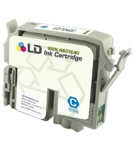 LD T042220 Epson Remanufactured Cyan T042220 Ink Cartridge
