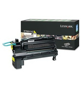 Lexmark X792X1YG Extra High-Yield Toner, 20, 000 Page-Yield, Yellow