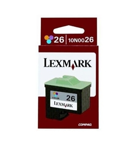 Printer Essentials for Lexmark Z23/Z25/Z35 - Color - RM0026 Inkjet Cartridge