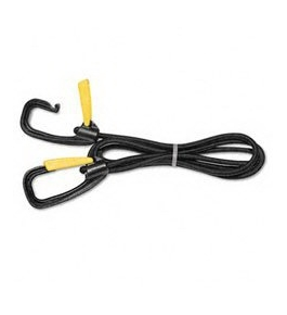Kantek LGLC10 Replacement 72-Inch Bungee Cord with Safety Locking Clips