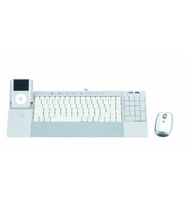 Lifeworks Technology iHome iConnect Media Keyboard and Wireless Laser Mouse