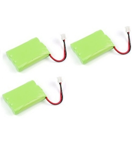 Lot of 3 - HIGH QUALITY GATOR CRUNCH - Cordless Phone Battery for VTech different models