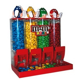 M&M'S World Colorworks Candy Dispenser