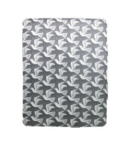 M.C. Escher iPad2 Fabric Wrapped Case - Plane With Birds [CD-ROM]
