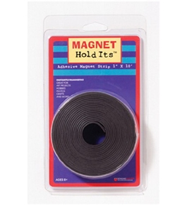 "Magnet Strip - 1""W x 10 Ft. Roll; Adhesive Back; no. DO-735005"