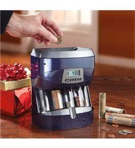 Magnif Digital Coin Bank/Sorter - 4861