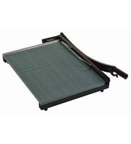 "Martin Yale Stakcut Paper Trimmer - 1 x Blade(s) - Cuts 30 Sheet - 24"" Cutting Length - Wood Base - Green"