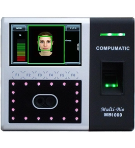 MB1000 Multi-Bio Biometric Face Recognition and Fingerprint System