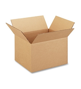 "12"" x 10"" x 8"" Multi-Depth Corrugated Boxes (Bundle of 25)"