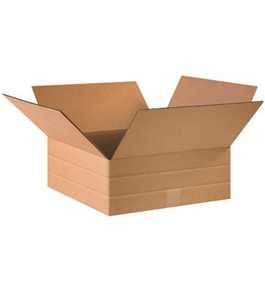 "16"" x 16"" x 6"" Multi-Depth Corrugated Boxes (Bundle of 25)"