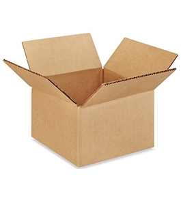 "6"" x 6"" x 4"" Multi-Depth Corrugated Boxes (Bundle of 25)"